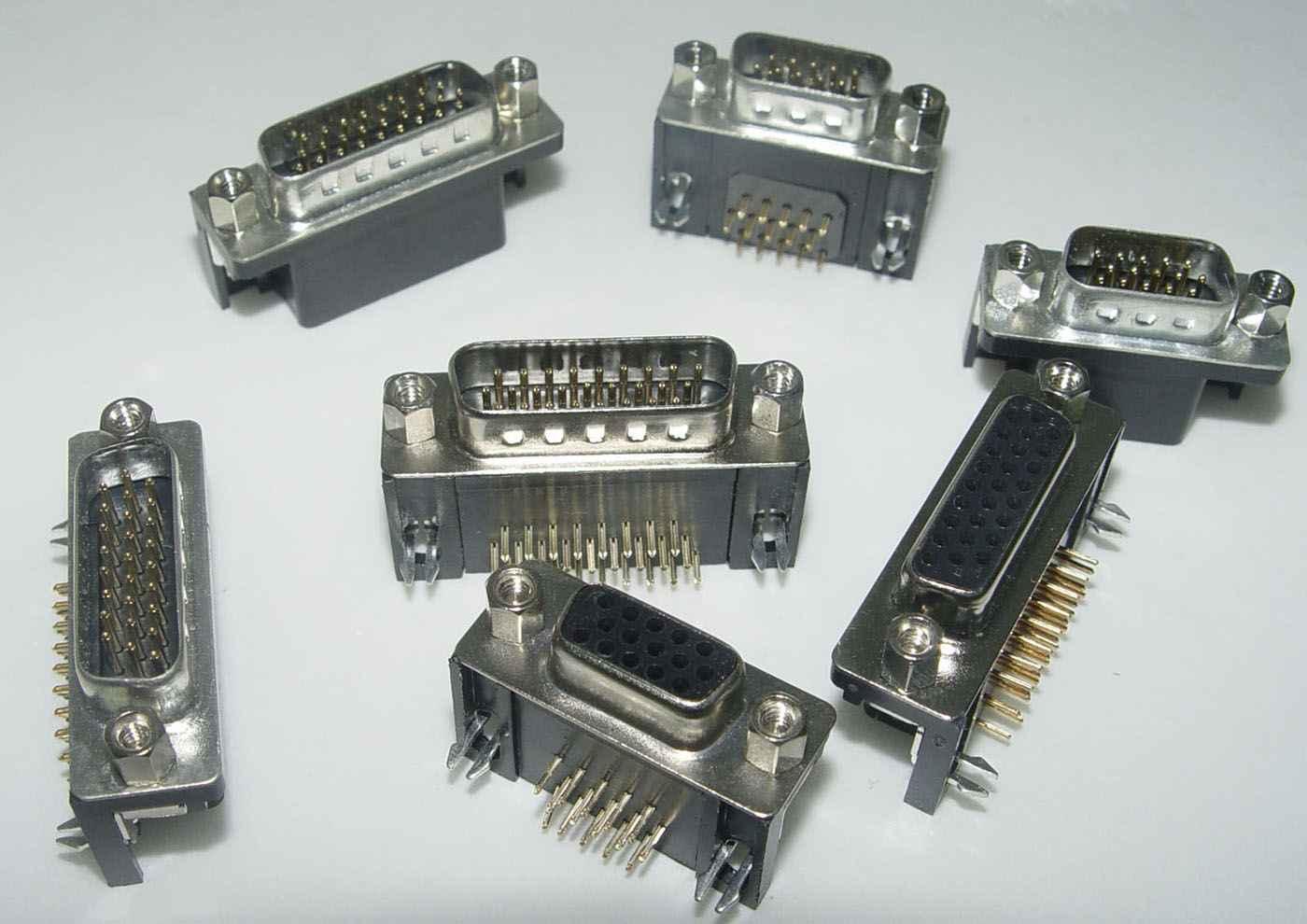 DB/DP/DR/压排式接插件 第38张